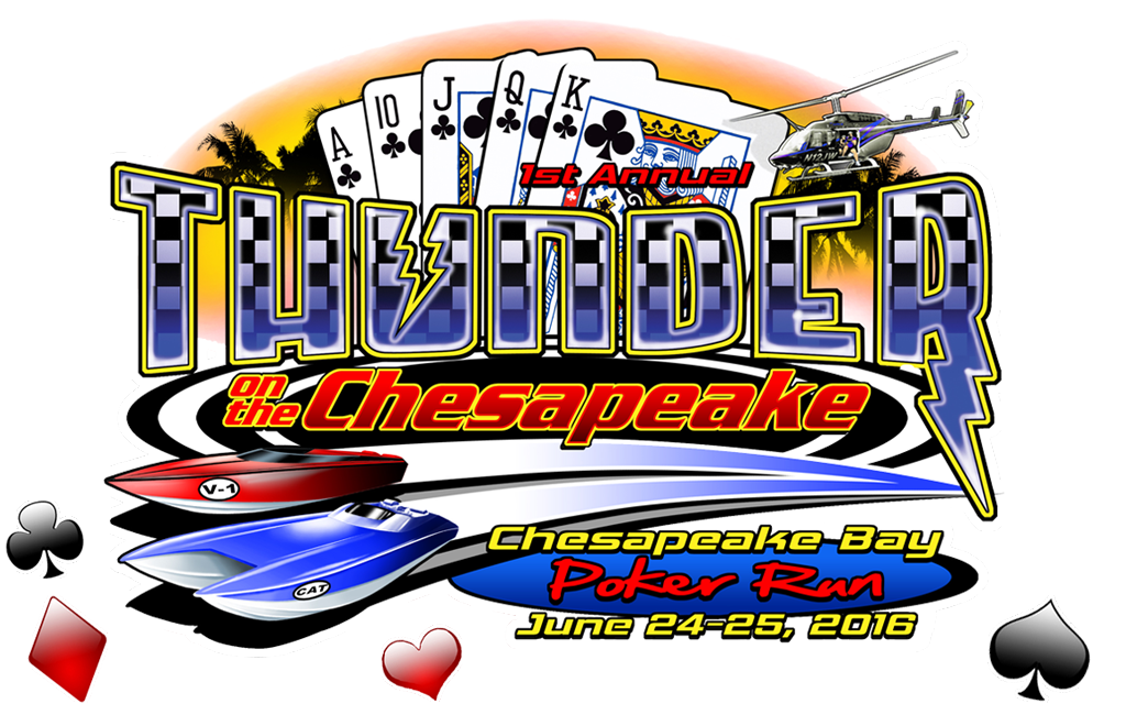 Chesapeake poker run